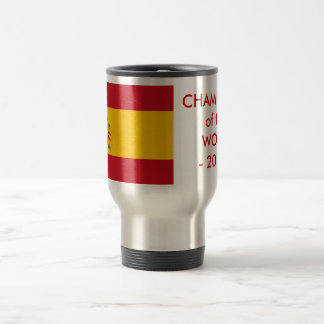 Travel Mug with Flag of Spain