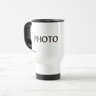 Travel Mug with Photo Camera