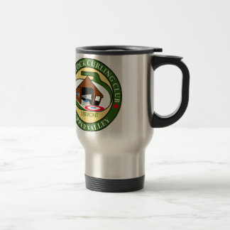 Travel mug, Woodstock Curling Club logo Travel Mug