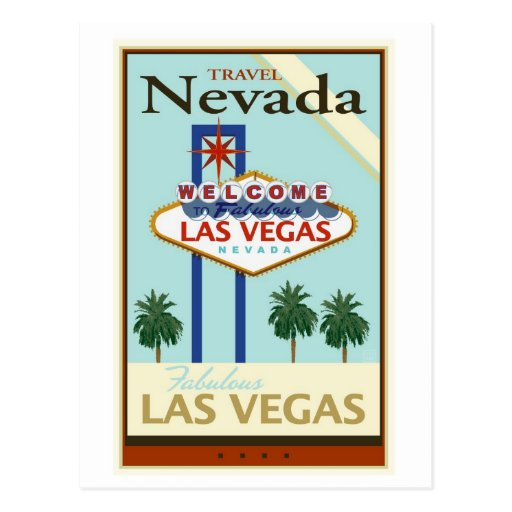 Travel Nevada Post Cards