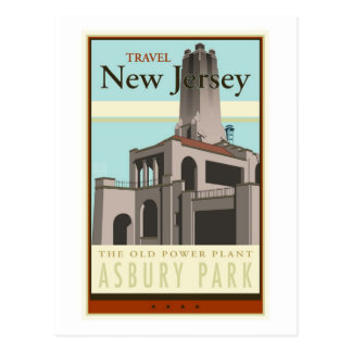 Travel New Jersey Postcard