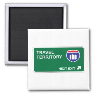 Travel Next Exit Magnet