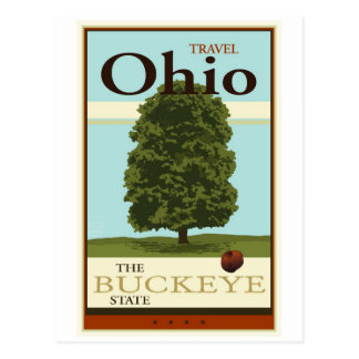 Travel Ohio Postcard