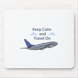 Travel On Mouse Pad