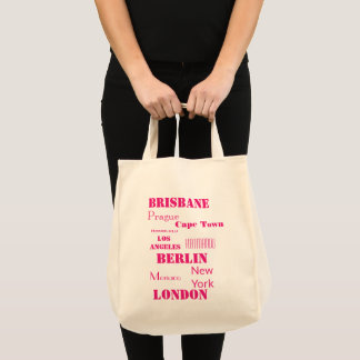 Travel Personal Colorful wish list Tote Bag