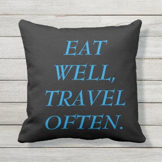 Travel Pillow! Throw Pillow