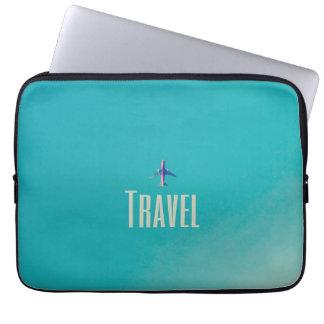 Travel Plane Laptop Sleeve