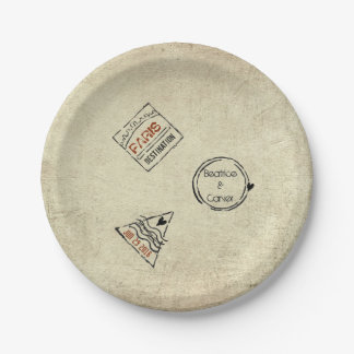 Travel Plates 7 Inch Paper Plate