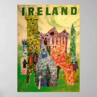 TRAVEL POSTER IRELAND