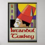 Travel Poster Turkey, Istanbul
