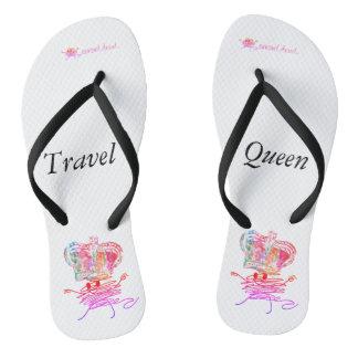 Travel Queen Flip Flops