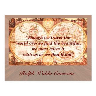 Travel quote - postcard
