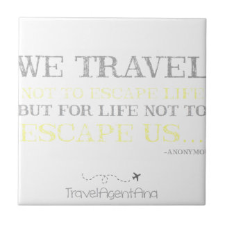 Travel Quote Tile