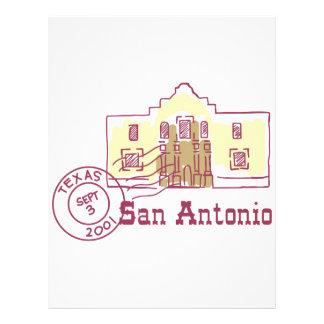 Travel San Antonio Letterhead Template