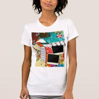 Travel Scrapbook Womens T-Shirt