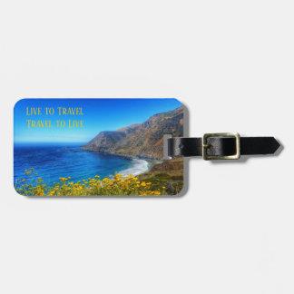 Travel Seaside 2 Luggage Tag