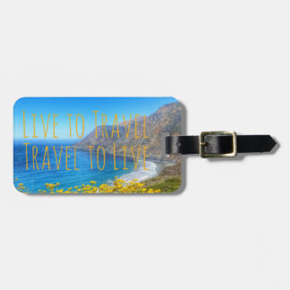 Travel Seaside Luggage Tag