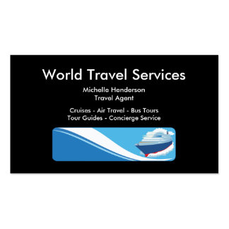 Travel Service Business Card