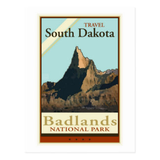 Travel South Dakota Postcard