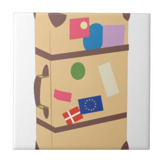 Travel Suitcase Tile
