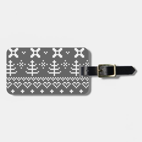 Travel tag with Folk structure