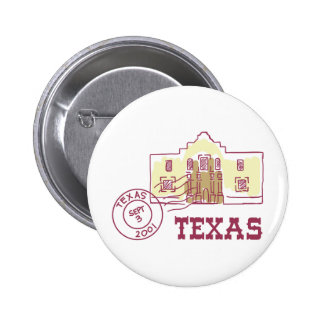 Travel Texas 2 Inch Round Button
