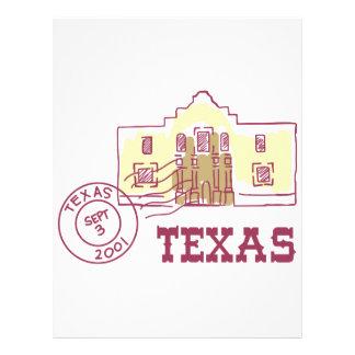 Travel Texas Letterhead