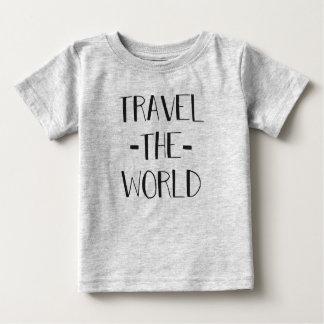 Travel The World Baby T Baby T-Shirt