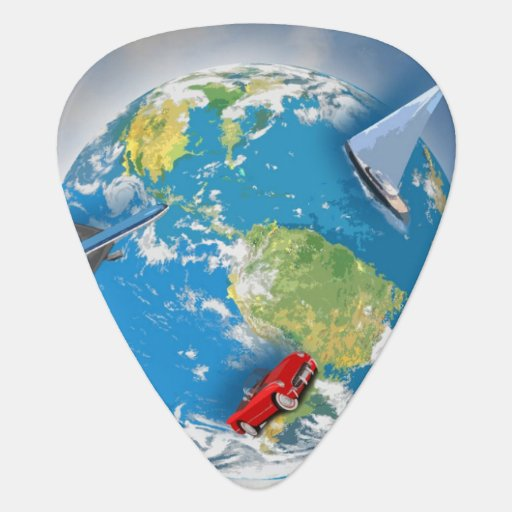 Travel the World Pick
