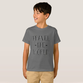 Travel The World Kids T T-Shirt