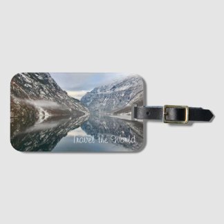 Travel the World Luggage Tag - Norwegian Fjords