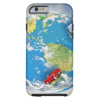 Travel the World Tough iPhone 6 Case