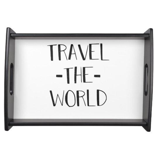 Travel The World Tray Food Tray