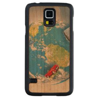 Travel the World Cherry Galaxy S5 Slim Case