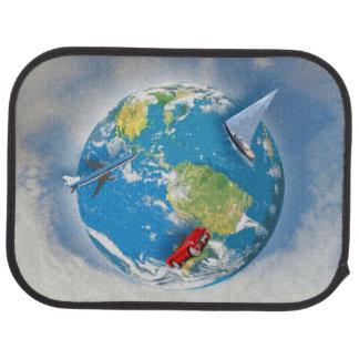 Travel the World Car Mat