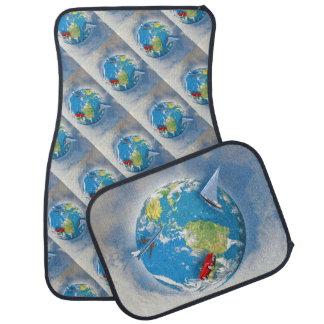 Travel the World Floor Mat
