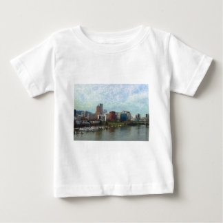 Travel through Portland Baby T-Shirt