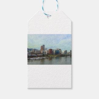Travel through Portland Gift Tags