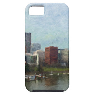 Travel through Portland iPhone 5 Cover