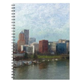 Travel through Portland Notebooks