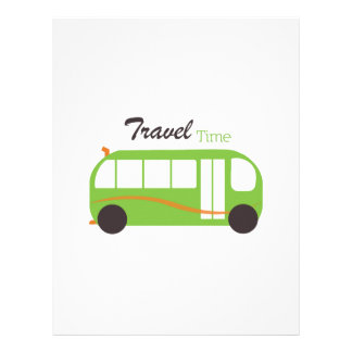 Travel Time Customized Letterhead