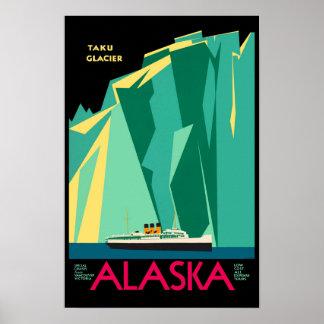 Travel to Alaska AK Taku Glacier Special Cruises : Poster