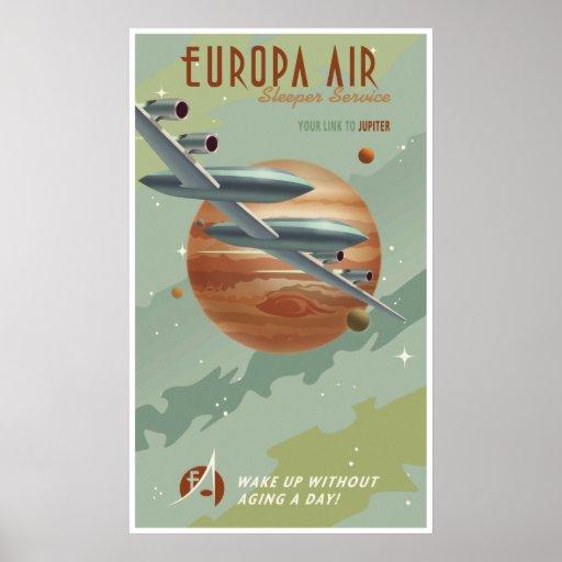 Travel to Jupiter Print