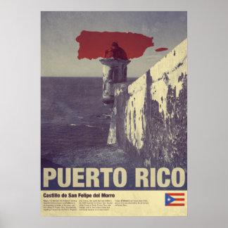 Travel to Puerto Rico: El Morro Poster