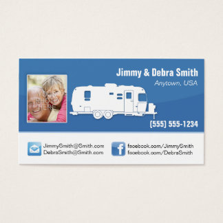 Travel Trailer RV / Camping Cards