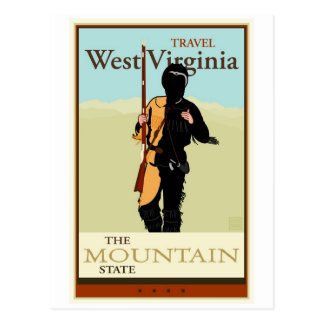Travel West Virginia Postcard
