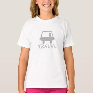 TRAVEL WHITE T-SHIRT