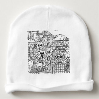 Travel with Pen Baby Beanie
