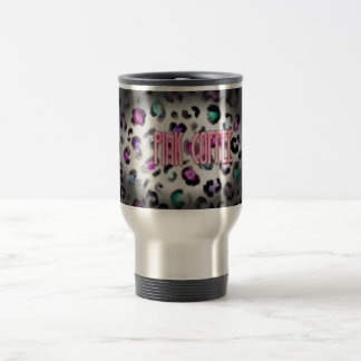 Travel With Pink Coffee Travel Mug