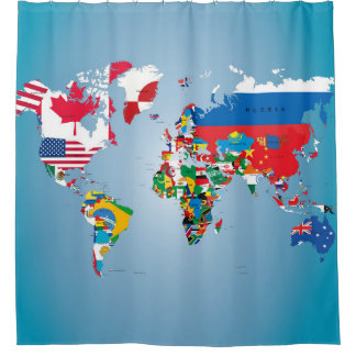 Travel World Globe Flags Map